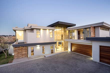 Residence naidoo modern houses by francois marais architects
