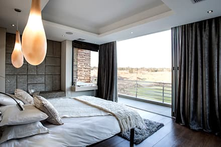 Residence Naidoo: modern Bedroom by FRANCOIS MARAIS ARCHITECTS