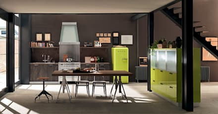cucina in stile industriale: idee & ispirazioni | homify - Cucine Stile Industriale Vintage
