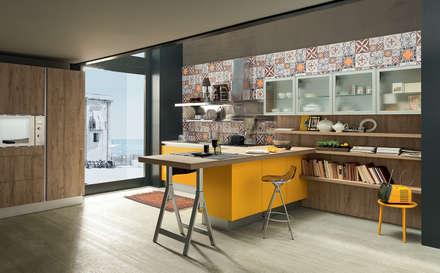 nostri articoli: Cucina in stile in stile Industriale di Lamir ...