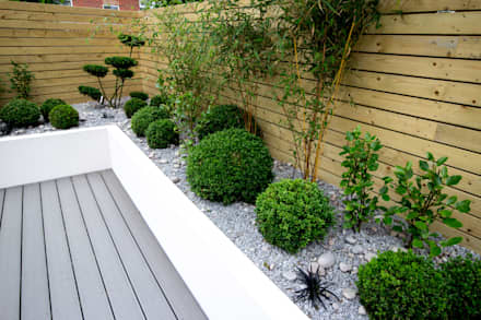small low maintenance garden minimalistic garden by j b landscapes ltd - Garden Ideas Landscaping