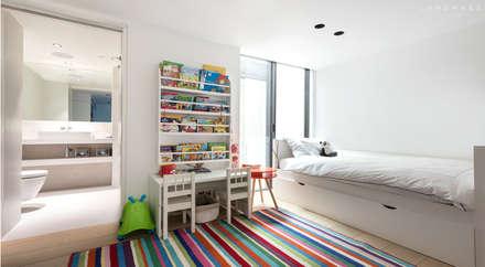 KIDS BEDROOM: scandinavian Bedroom by Landmass London