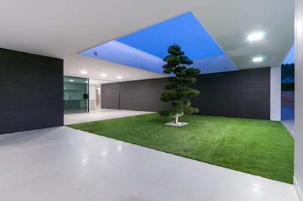 Habitação PM: Jardins modernos por ARTEQUITECTOS