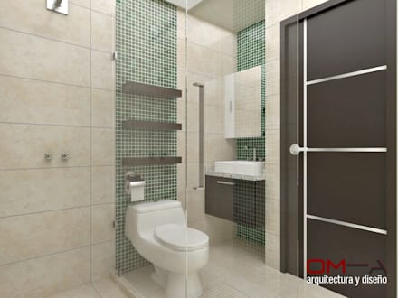 Ba os ideas im genes y decoraci n homify for Diseno de interiores banos modernos