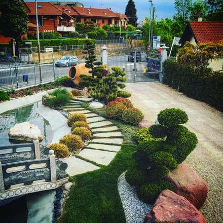 Giardino idee immagini e decorazione homify - Foto piccoli giardini casa ...