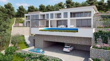 VIVIENDA: Casas de estilo minimalista de ABAD Y COTONER, S.L.