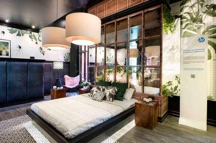 HP´s Haute Printing: Dormitorios de estilo mediterráneo de Egue y Seta