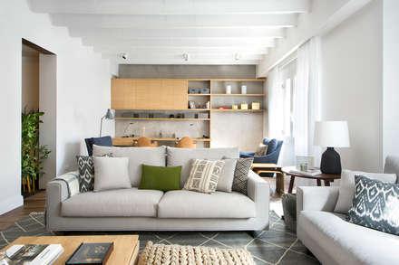 mediterranean Living room by Egue y Seta