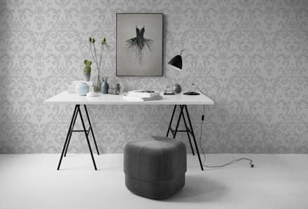Classical Ballet: scandinavian Study/office by Pixers