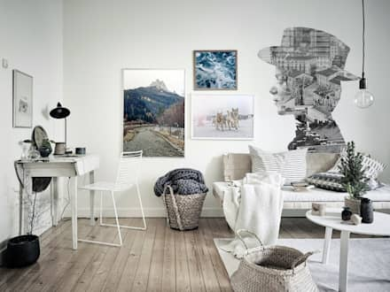 Keep Calm: scandinavian Study/office by Pixers