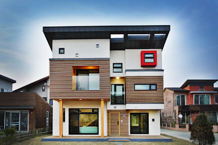 asian Houses by KDDH Architects