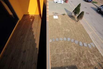 영종도 북 하우스: KDDH Architects의  정원