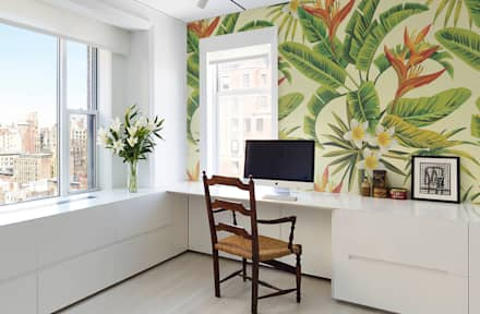 The Rainforest: colonial Study/office by Pixers