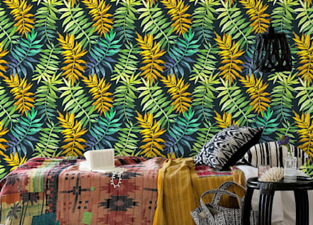 tropical Bedroom by Pixers