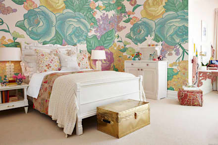 Shabby Chic: classic Bedroom by Pixers