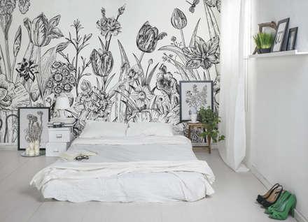 Dormitorios de estilo rústico por Pixers