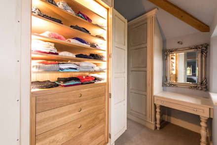 Bespoke Hand Painted Dressing Room: Classic Dressing Room By Buscott  Woodworking Ltd Part 98
