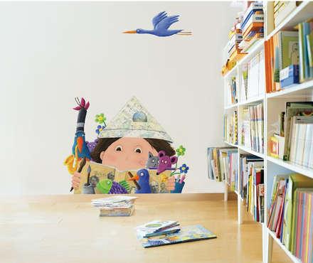 Children's Imagination: modern Nursery/kid's room by Pixers