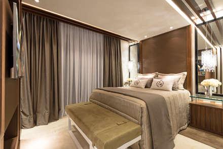 Casa Villa: Quartos  por Designer de Interiores e Paisagista Iara Kílaris
