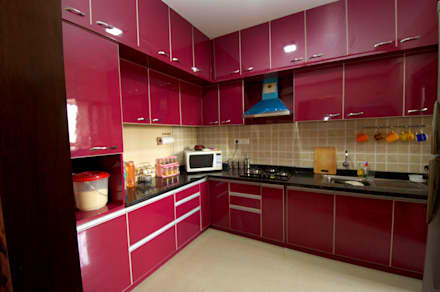 Hennur, Banaglore Project: modern Kitchen by Kriyartive Interior Design