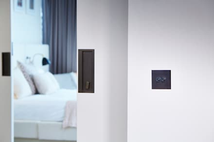 Battersea Power Station: industrial Bedroom by Wandsworth Electrical