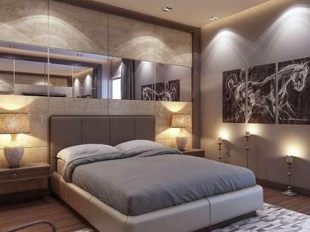 Vero Concept Archıtects - Yunus Emre - Alsancak  Konut: modern tarz Yatak Odası