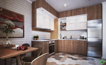 Apartment Myalik: Кухни в . Автор – Polygon arch&des