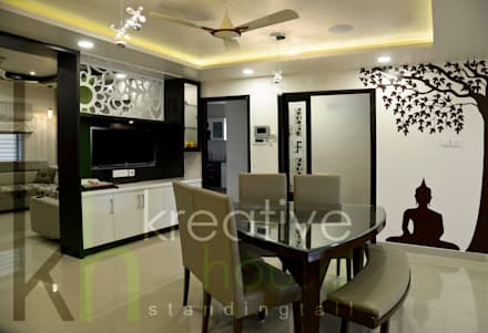 Dining Room: modern Dining room by KREATIVE HOUSE
