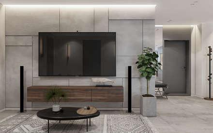 Modern Home: Гостиная в . Автор – Zikzak Design Studio