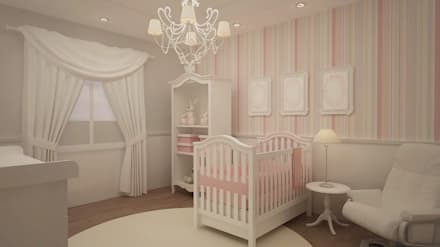 classic Nursery/kid's room by Roccó