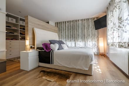 modern Bedroom by Gramil Interiorismo II