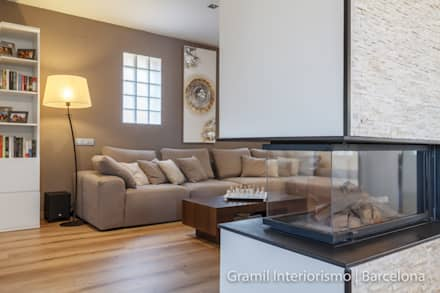 modern Living room by Gramil Interiorismo II
