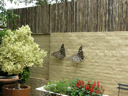 """""""LATTE"""" SCREEN: rustic Houses by Oxford Trellis"""