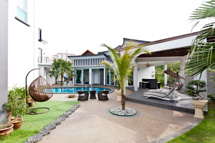 Contemporarily Dashing | BUNGALOW:  Terrace by Design Spirits