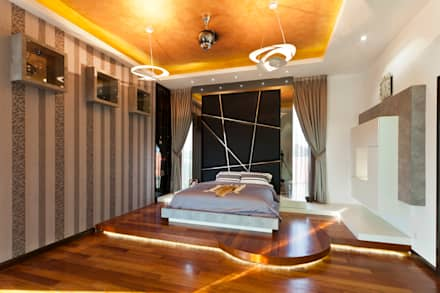Contemporarily Dashing | BUNGALOW: modern Bedroom by Design Spirits