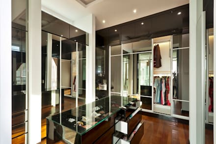Contemporarily Dashing | BUNGALOW: Modern Dressing Room By Design Spirits