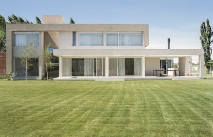 CASA ML: Dormitorios de estilo moderno por DMS Arquitectura