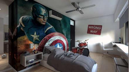 Dormitorios infantiles ideas im genes y decoraci n homify for Dormitorio super heroes