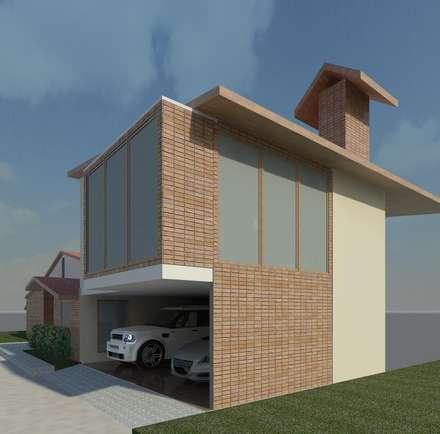 Diseño de Anexo para vivienda: Anexos de estilo moderno por Diseño Store