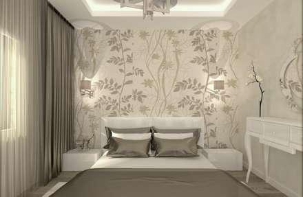ESA PARK İÇ MİMARLIK – LBC İNŞAAT- AYDINLIKEVLER ÖRNEK DAİRE : modern tarz Yatak Odası