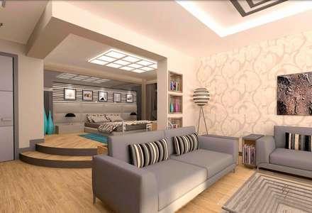 ESA PARK İÇ MİMARLIK - YURTKENT VİLLA PROJESİ : modern tarz Yatak Odası