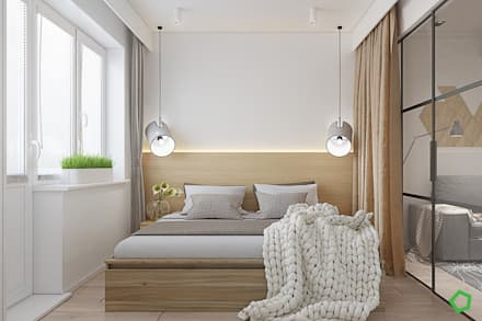 Fresh apartments: Спальни в . Автор – Polygon arch&des