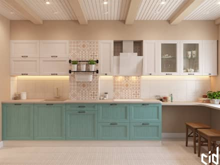 country Kitchen by Center of interior design