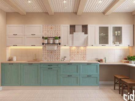 """Квартира в ЖК """"Белые Ночи"""": Кухни в . Автор – Center of interior design"""