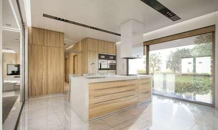 Willa Floryda: styl , w kategorii Kuchnia zaprojektowany przez MG Projekt Projekty Domów