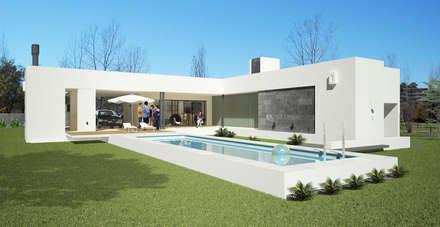 minimalistic Pool by D'Odorico Arquitectura & Obras