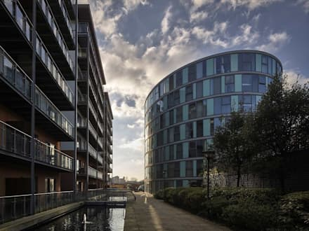 Albion Works - Block C:  Offices & stores by Andrew Wallace Architects