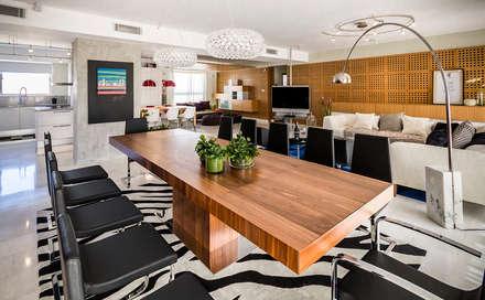 Apartamento 10A Grand Europa - NMD NOMADAS: Comedores de estilo moderno por NMD NOMADAS