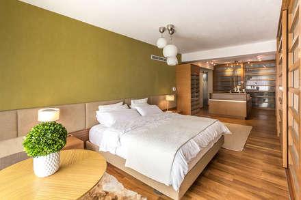 Apartamento 10A Grand Europa - NMD NOMADAS: Cuartos de estilo moderno por NMD NOMADAS