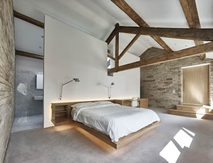 House 141: minimalistic Bedroom by Andrew Wallace Architects